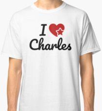 I love Charles, I heart Charly Soul-Mate Classic T-Shirt