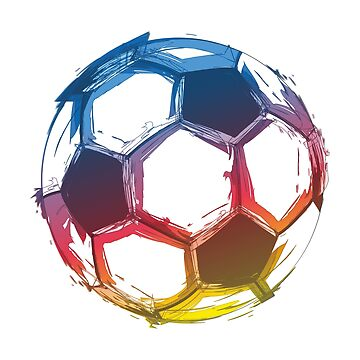 Soccer Ball Art by goodspy