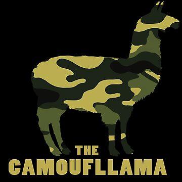 Camoufllama by xeron32
