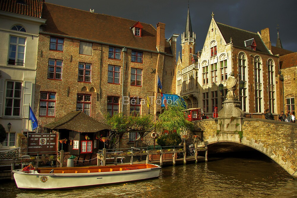 Magical Brugge by Béla Török