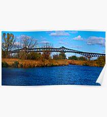Cantilever Bridge Poster