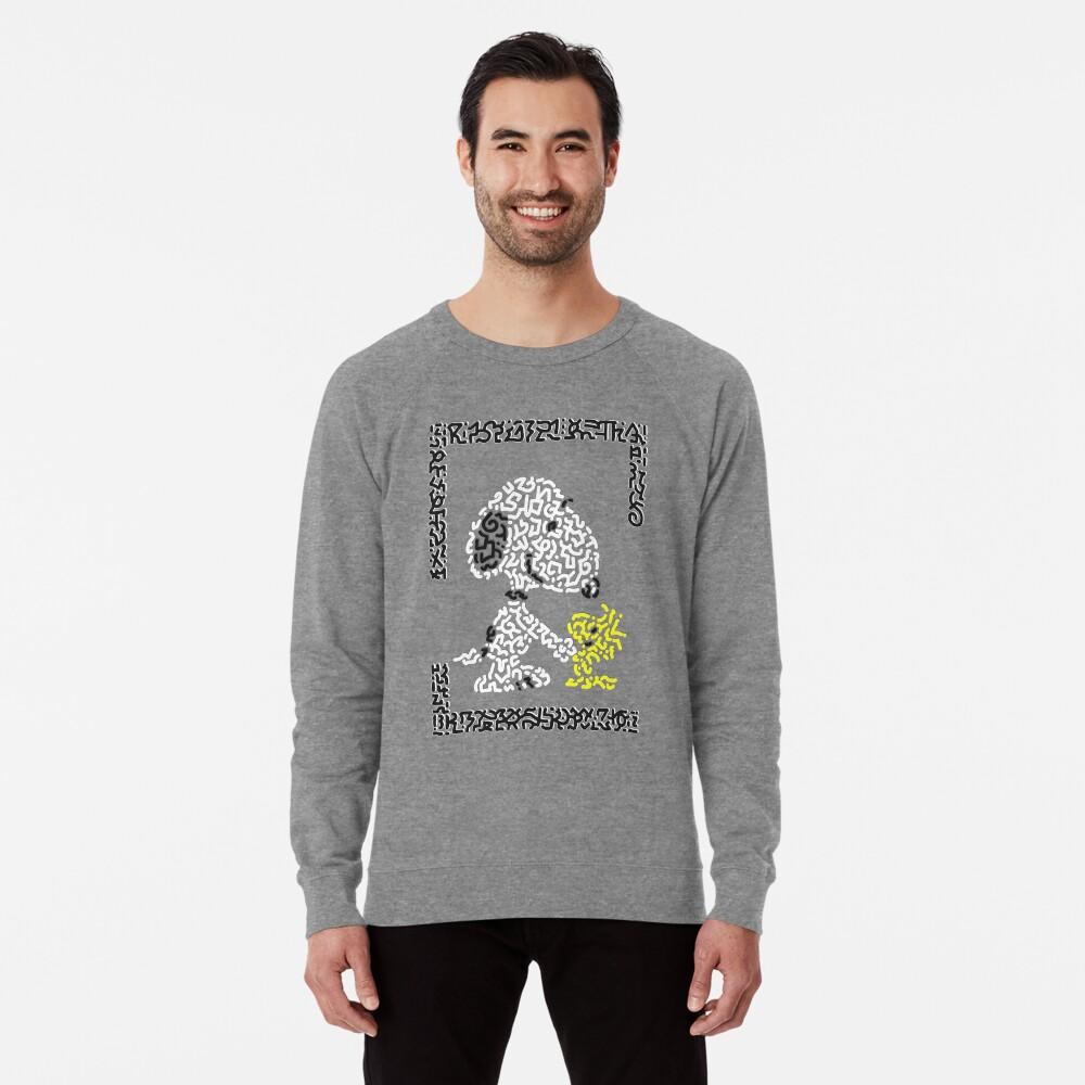Snoopy & Woodstock Lightweight Sweatshirt Front
