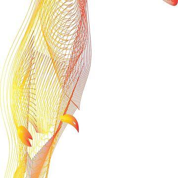 Toucan colourful bird by MagdaHanak