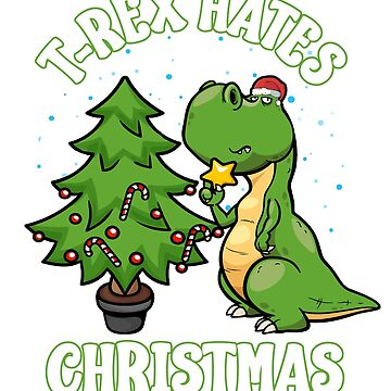 T-Rex Hates Christmas by frittata