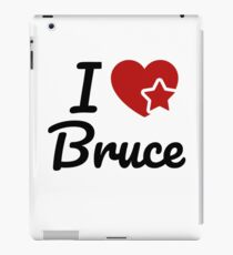 I love Bruce, I heart Bruce Soul-Mate iPad Case/Skin