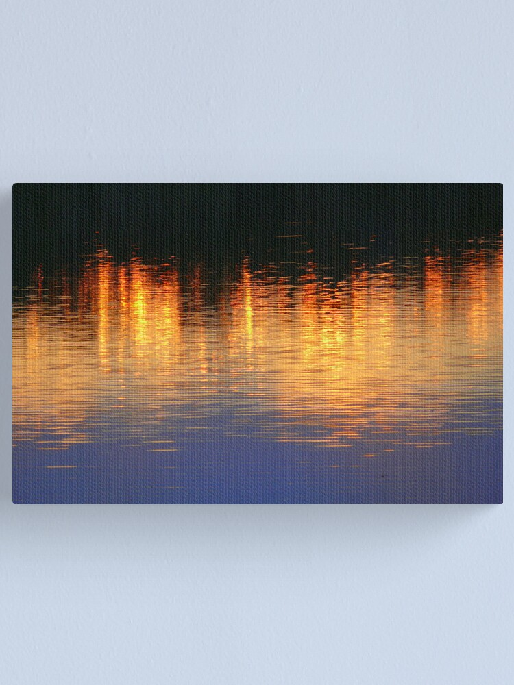 Alternate view of Sunset Lights Canvas Print
