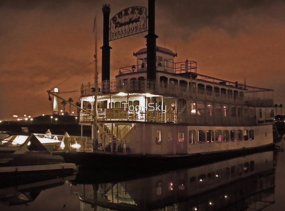 Steak House Cruise Ship  by Tom-Sky