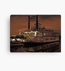 Steak House Cruise Ship  Canvas Print