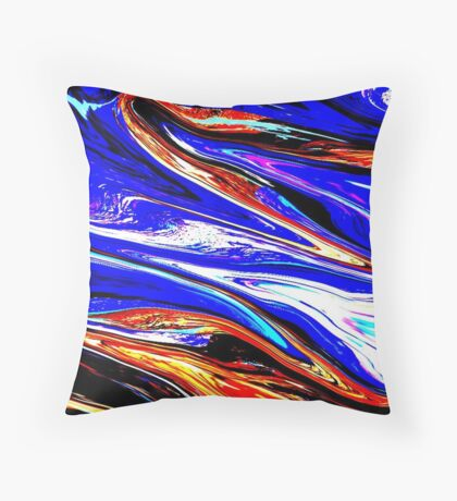 exhileration Throw Pillow