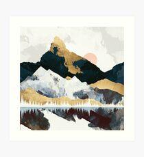 Winters Day Art Print