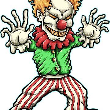Evil Clown by NeonArcade87