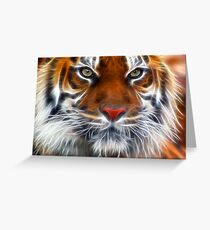 Lord of the Indian Jungles Greeting Card