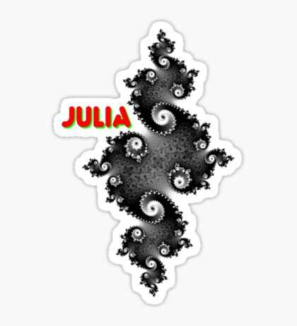 Julia Beautiful Sticker