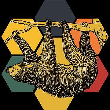 Sloth treetop by GeschenkIdee