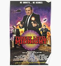Threat Level Midnight Poster Poster