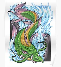 Dragon Coi Poster
