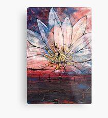 Crimson Lily Metal Print