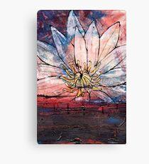 Crimson Lily Canvas Print