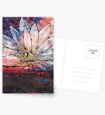 Crimson Lily Postcards