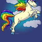 « Licorne arc-en-ciel » par Stylet-Pinceau