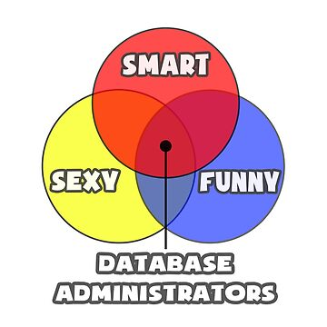 Venn Diagram - Database Administrators by TKUP22