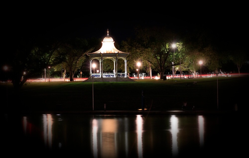 Night Shots Of Adelaide by Russell  Burgess