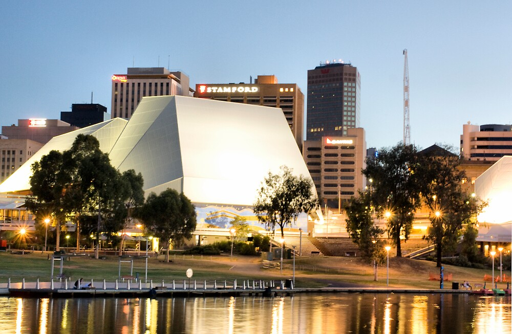 Festival Theater Adelaide by Russell  Burgess