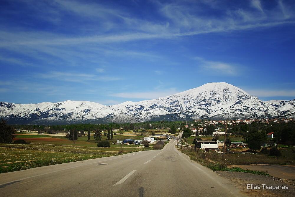 Greek Landscape 008 by Elias Tsaparas