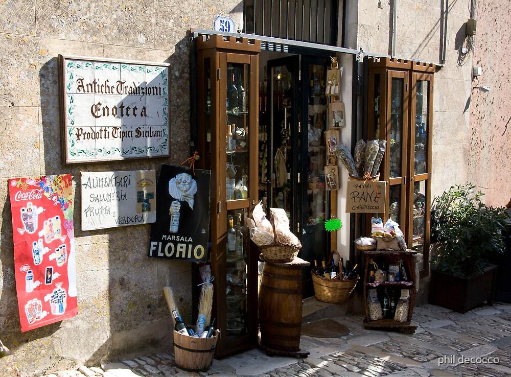 Enoteca Siciliana by phil decocco
