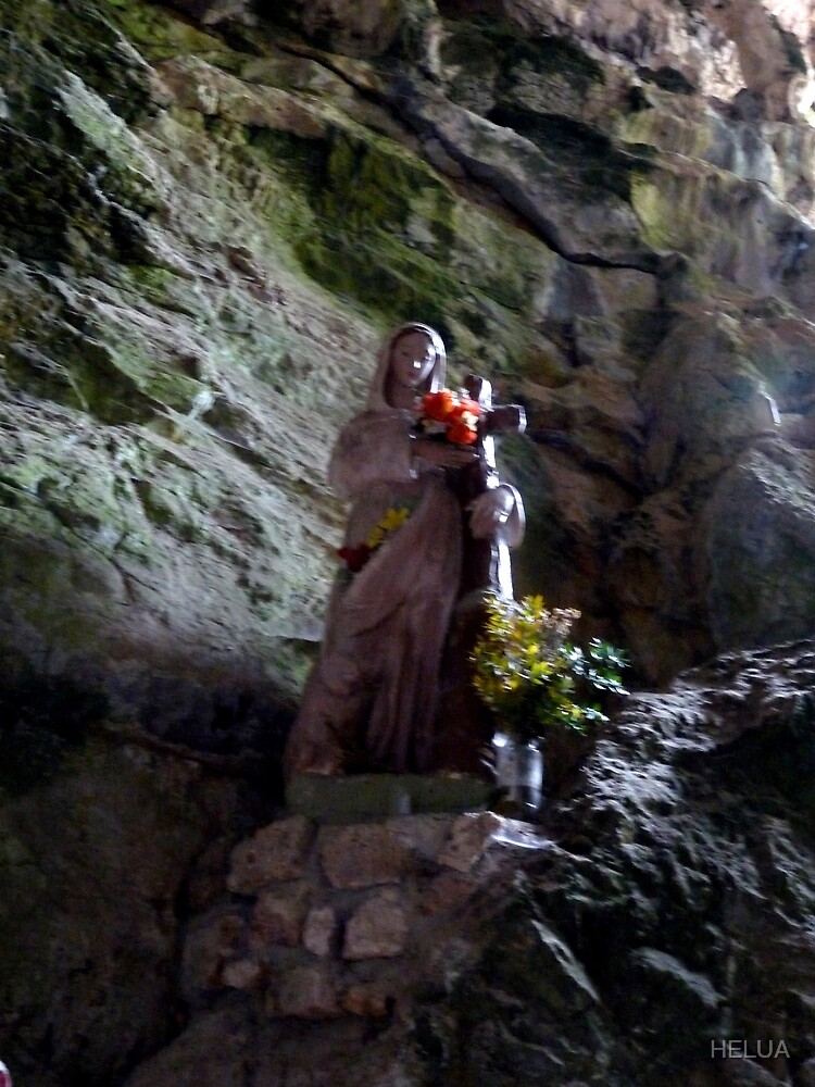 The Madonna of Gorge de Galamus by HELUA