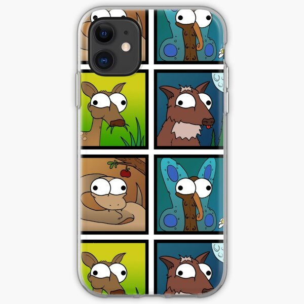 Animaux louches Coque souple iPhone