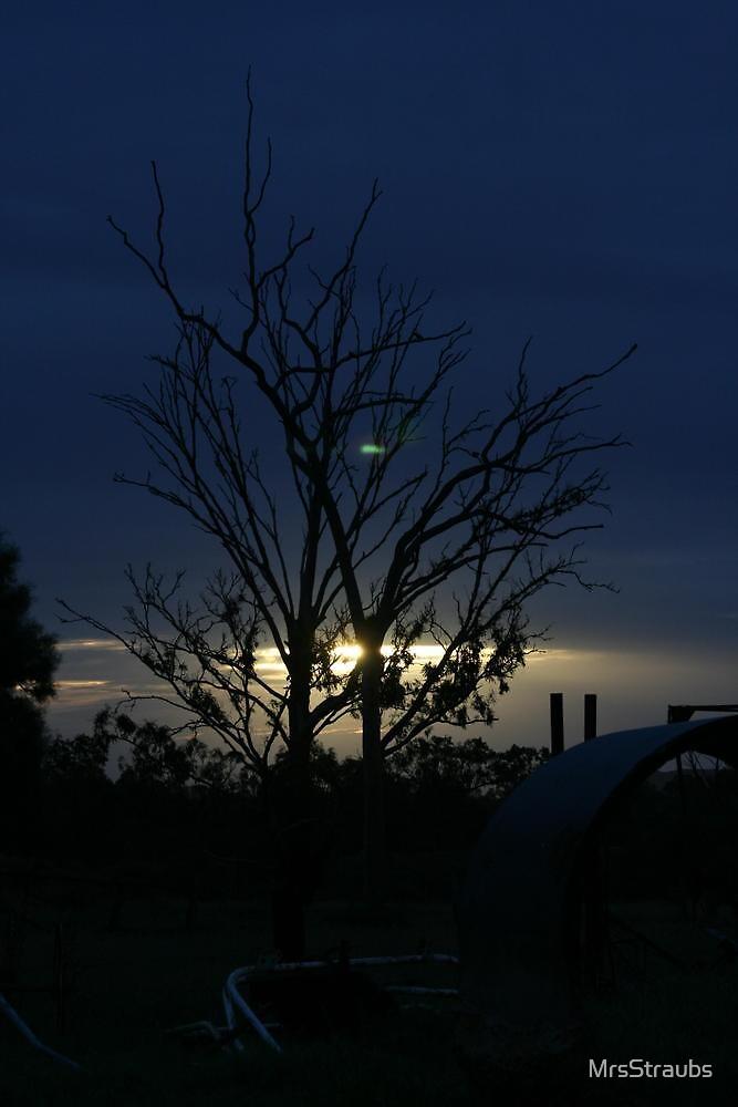 Dusk in Central Queensland by MrsStraubs