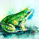 WAITING FOR A KISS - FROG by Carrie McKenzie