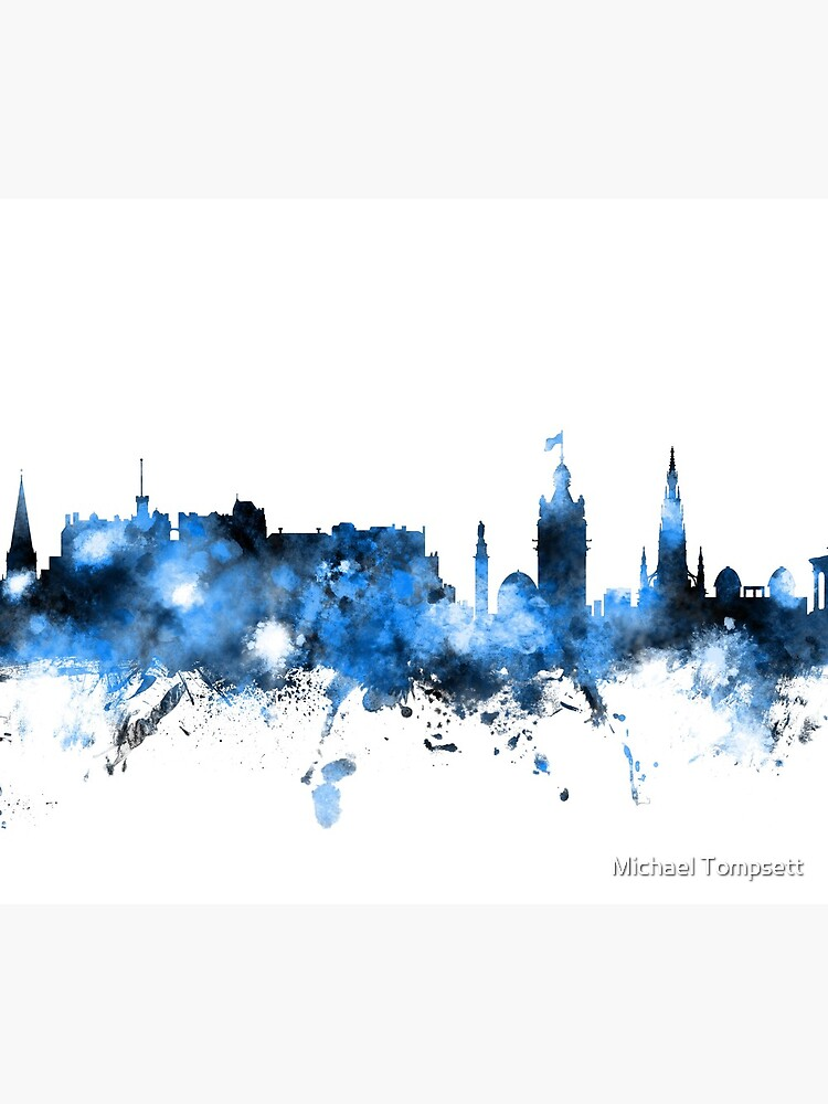 Edinburgh Schottland Skyline von ArtPrints