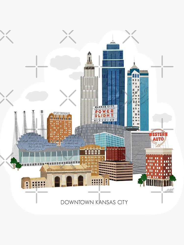 Downtown Kansas City  by Lindseykayco