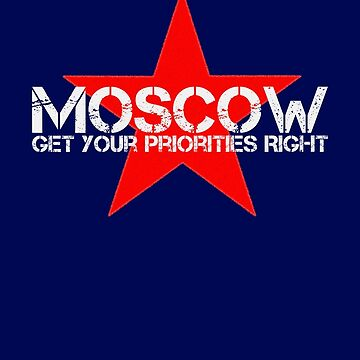 MoSCoW Priority by AdTheBad