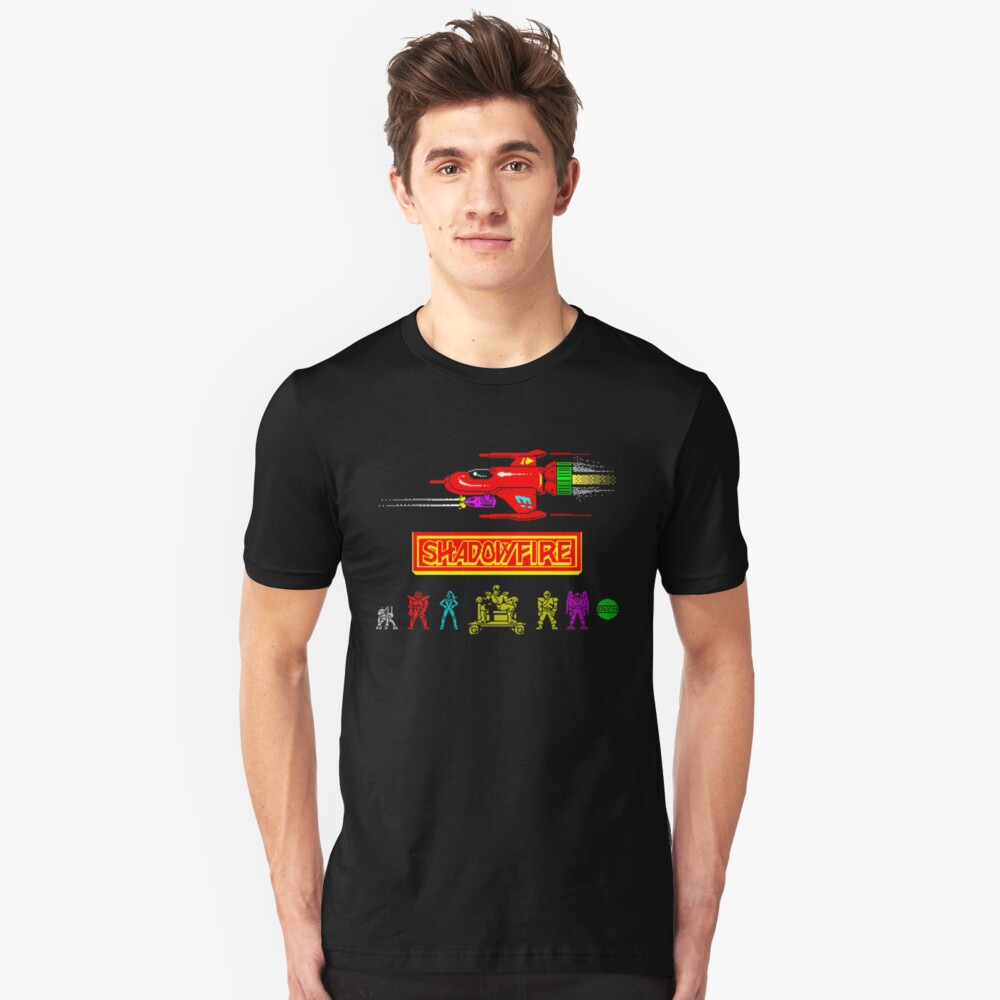 Gaming [ZX Spectrum] - Shadowfire Unisex T-Shirt Front