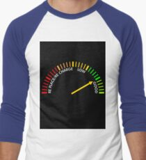 battery testing instrument Men's Baseball ¾ T-Shirt