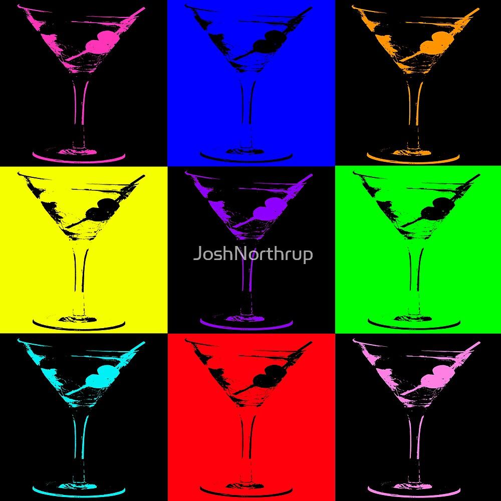 Martini Art by JoshNorthrup