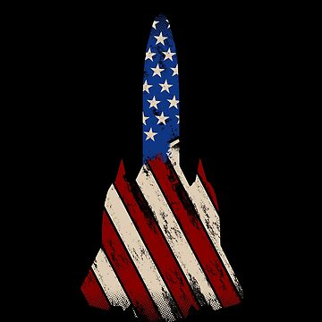 Legendary SR-71 Blackbird Pilot | Distressed US Flag T-Shirt by JohnPhillips
