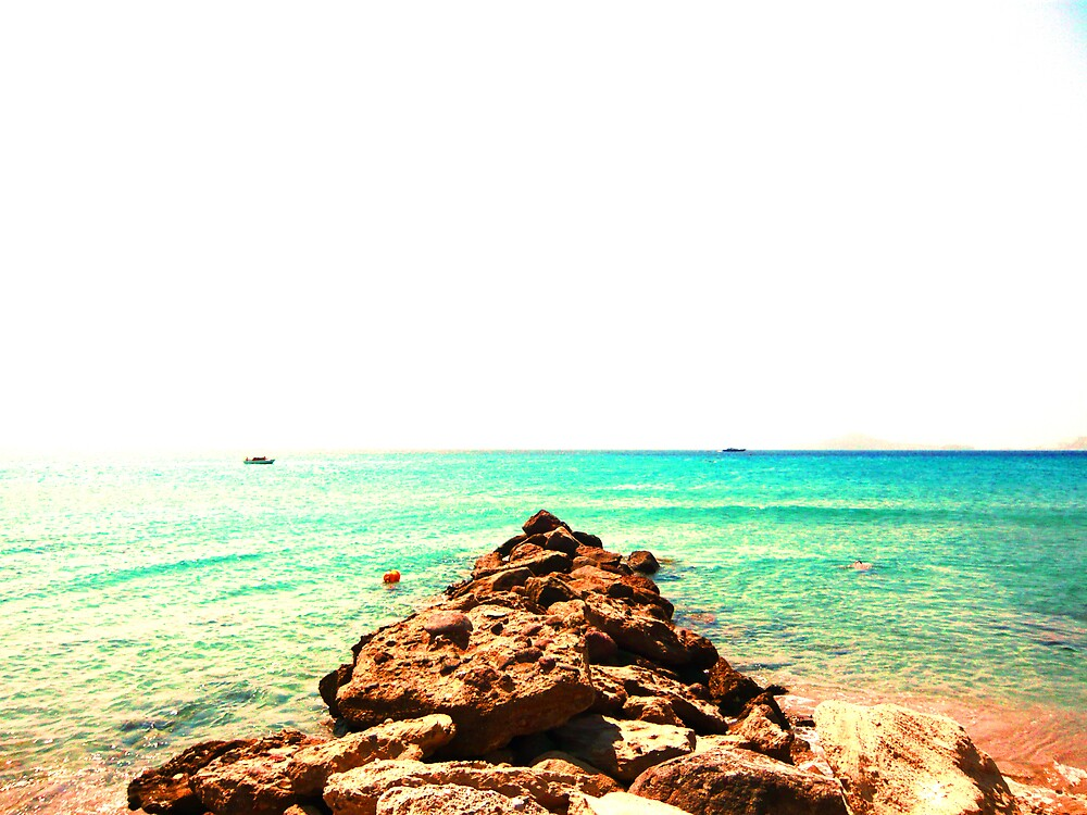 Rocks out to sea... #3 by JoshHardman