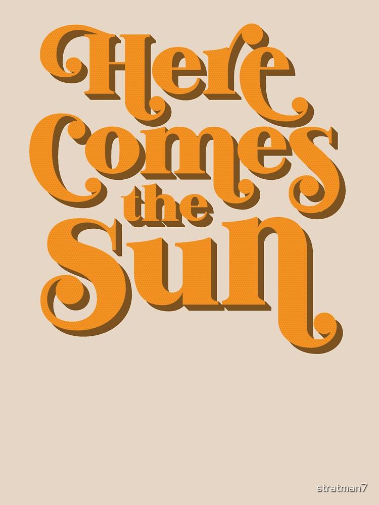 Hier kommt die Sonne von stratman7