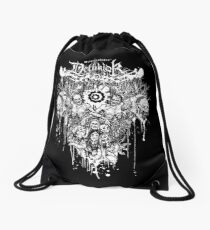 Dethklok Metalocalypse Shirt Drawstring Bag