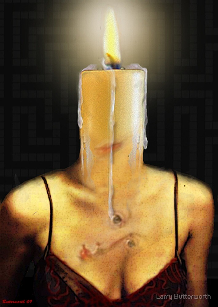 THE CANDLE FLAME by Larry Butterworth