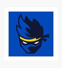 Ninja Logo Art Print