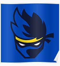 Superb Ninja Logo Poster