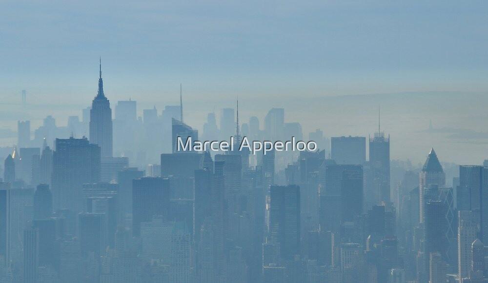 Blue morning - Manhattan, New York City by Marcel Apperloo