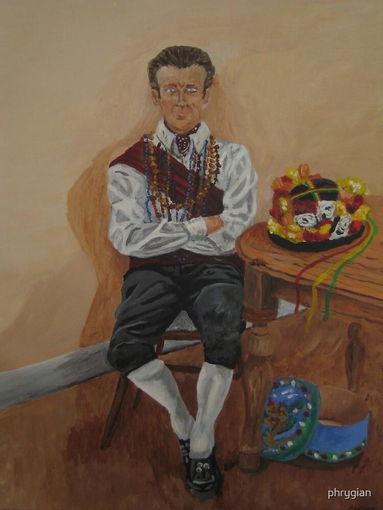 Morris man by phrygian