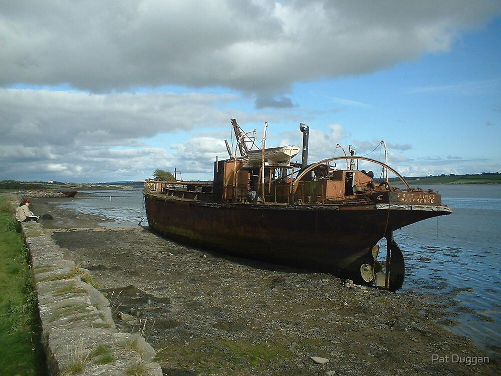 """""""Portlairge""""Dredger[Mudboat][Please View Larger] by Pat Duggan"""