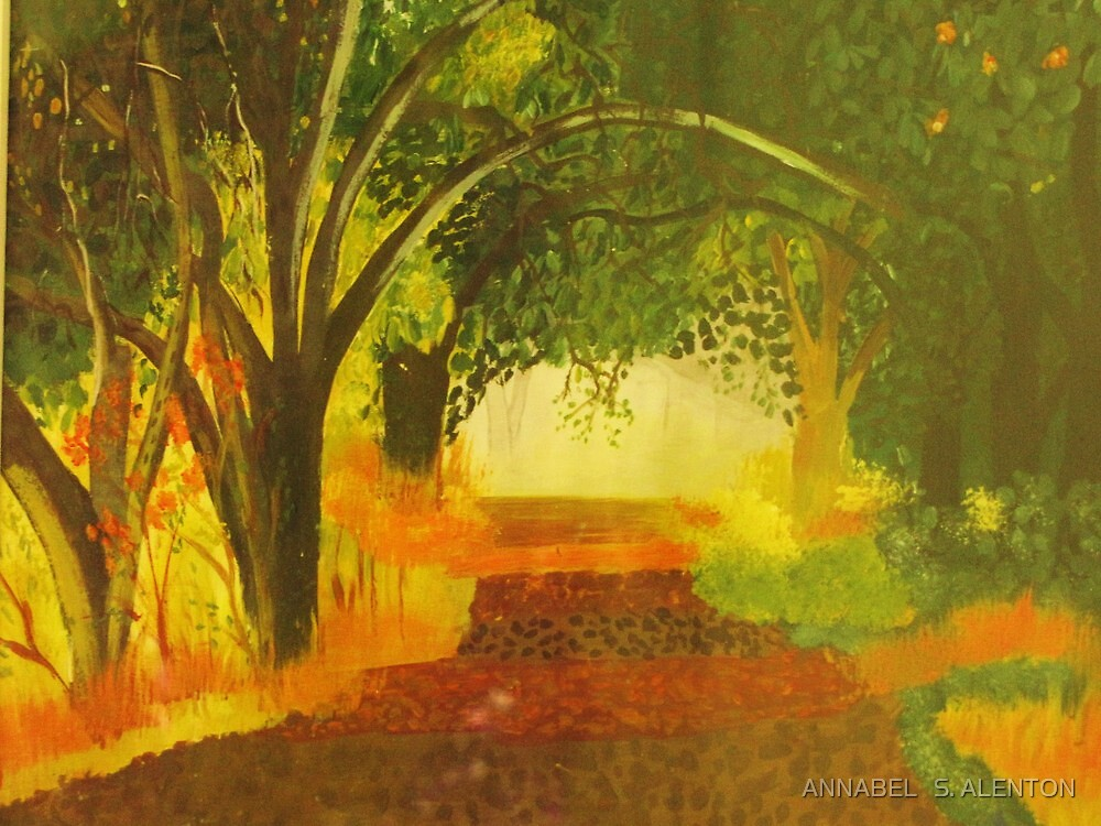 as autumn comes by ANNABEL   S. ALENTON